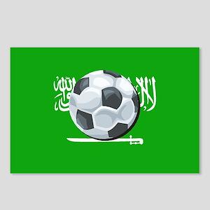 Saudi Arabian Flag Postcards (Package of 8)