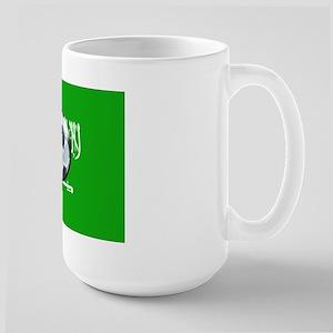 Saudi Arabian Flag Large Mug