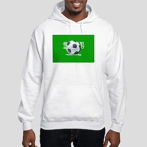 Saudi Arabian Flag Hooded Sweatshirt