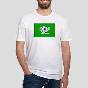 Saudi Arabian Flag Fitted T-Shirt