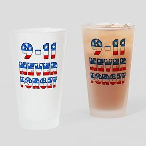 Sept. 11 Drinking Glass