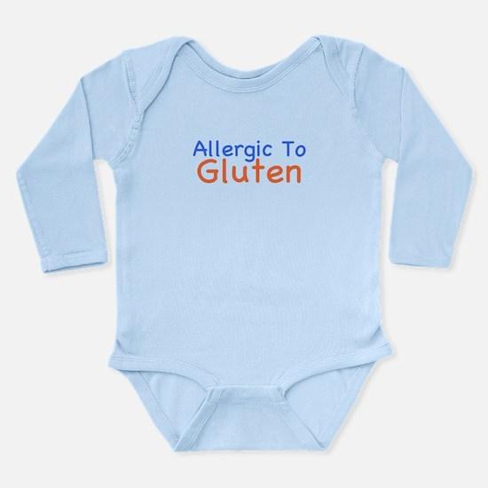 Allergic To Gluten Long Sleeve Infant Bodysuit