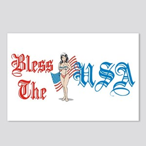 Bless the USA Postcards (Package of 8)