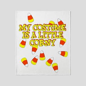 Corny Costume Throw Blanket