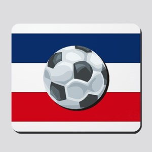 Serbia & Montenegro Soccer Mousepad