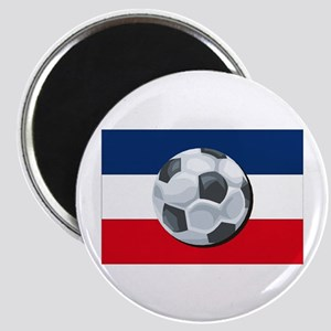 Serbia & Montenegro Soccer Magnet