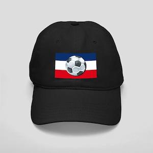Serbia & Montenegro Soccer Black Cap