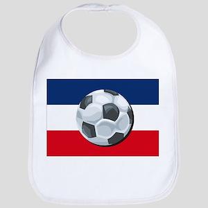 Serbia & Montenegro Soccer Bib