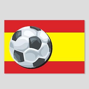 Spain Soccer Postcards (Package of 8)