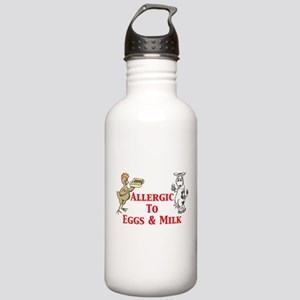 Allergic To Eggs & Milk Stainless Water Bottle 1.0