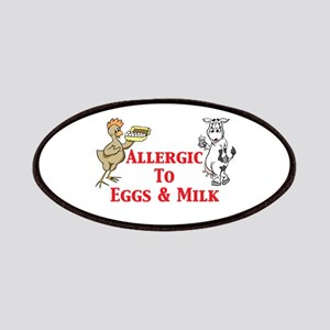 Allergic To Eggs & Milk Patches