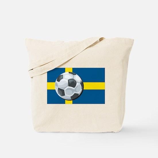 Swedish Soccer Tote Bag