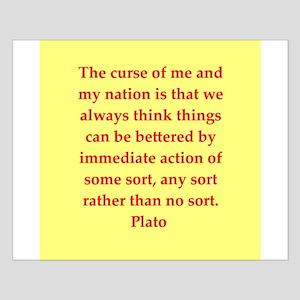 Wisdom of Plato Small Poster
