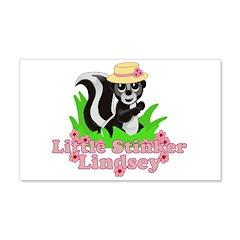 Little Stinker Lindsey 22x14 Wall Peel