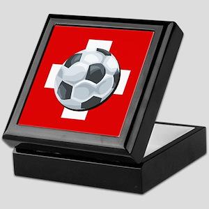 Swiss Soccer Keepsake Box