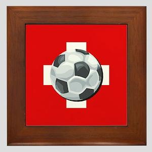 Swiss Soccer Framed Tile