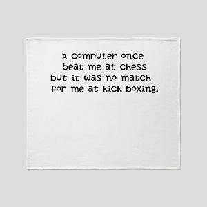 PC Down! Throw Blanket
