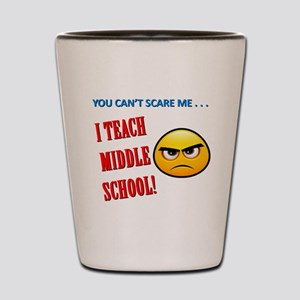 Middle School Teacher's Shot Glass