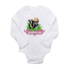Little Stinker Lorraine Long Sleeve Infant Bodysui