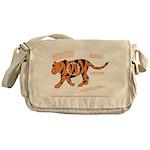 Tiger Facts Messenger Bag