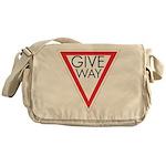 Give Way Messenger Bag