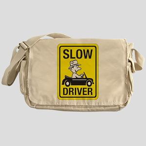 Slow Driver Messenger Bag