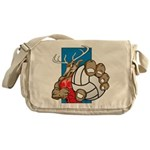 Bucks County Volleyball Messenger Bag
