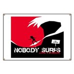 Nobody Surfs Like a Wahine Banner