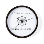 I Like Science Wall Clock