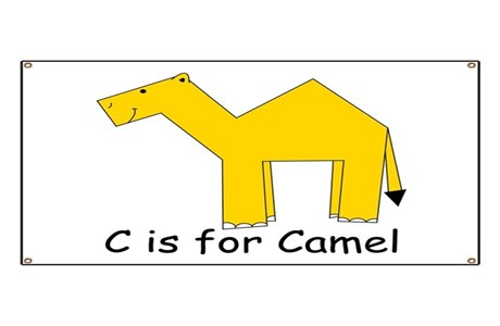 C Is For Camel Banner