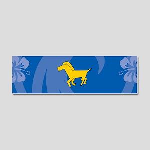 Horse Car Magnet 10 x 3