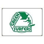 Green Surfers Banner