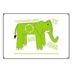 Elephant Facts Banner