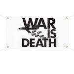 War is Death Banner