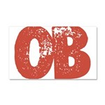 OB Car Magnet 20 x 12