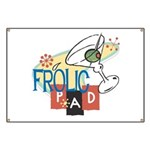 Frolic Pad Banner