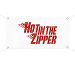 Hot in the Zipper Banner