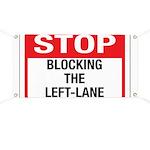 Stop Blocking Banner