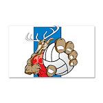 Bucks County Volleyball Car Magnet 20 x 12