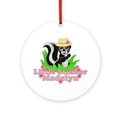 Little Stinker Madelyn Ornament (Round)