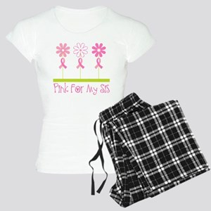 Pink Ribbon For My Sister Women's Light Pajamas