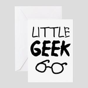 'Little Geek' Greeting Card