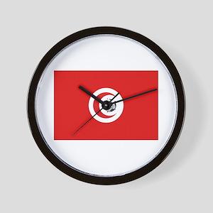 Tunisia Soccer Wall Clock