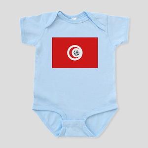 Tunisia Soccer Infant Creeper