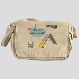 You Want What? Messenger Bag