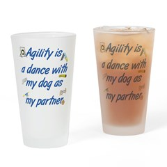 Agility Dance Drinking Glass