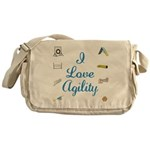 I Love Agility 2 Messenger Bag