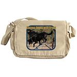 Success Dog Art Messenger Bag