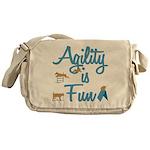 Agility is Fun Messenger Bag
