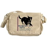 Have Fun in Agility Messenger Bag